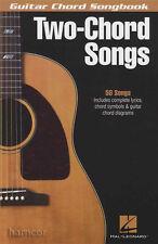 TWO-Corda Corda per Chitarra canzoni SONGBOOK libro di musica molto facile per i principianti