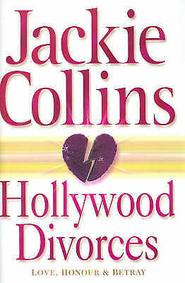 """""""AS NEW"""" Collins, Jackie, Hollywood Divorces (Hardcover), Hardcover Book"""