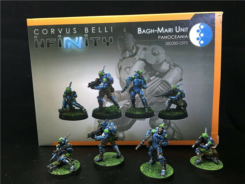 30mm Infinity DPS Målat Panoceania Bagh -Mari Unit INF226