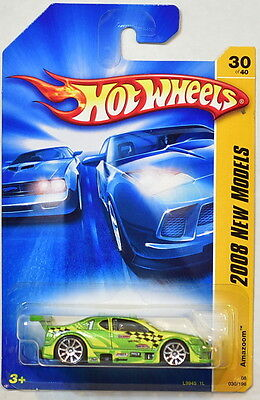 Auto- & Verkehrsmodelle Hot Wheels 2008 Neu Modelle Amazoom #30/40 Grün Entlastung Von Hitze Und Sonnenstich