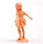 Miniature-Plastic-Dancing-Little-Girl-1-3-4-034-Tall-Set-of-3-203-3-088