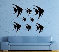 Wall Stickers Vinyl Decal Fish For Bathroom Ocean Marine Sea Decor Room (ig1581)