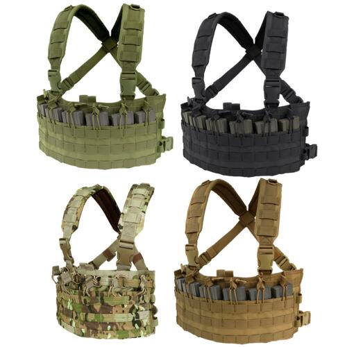 Condor MCR6 Rapid MOLLE Airsoft Chest Rig Adjustable Tactical Modular Vest