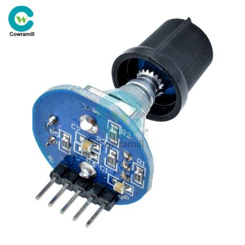 5PCS 5V Rotary Encoder Rotating Knob Cap Control Potentiometer for Arduino