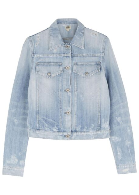 Brand New100% Authentic Citizens of Humanity light blue denim jacket size M