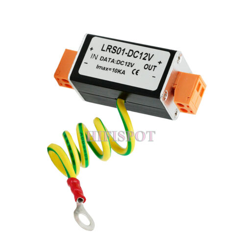 1pc DC12V Power Supply Surge Protector,Protection device,Lightning Arrester,SPD