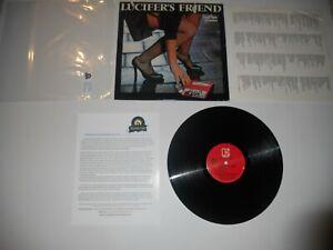 Lucifer-039-s-Friend-Good-Time-Warrior-2nd-Elektra-USA-EXC-Press-ULTRASONIC-Clean