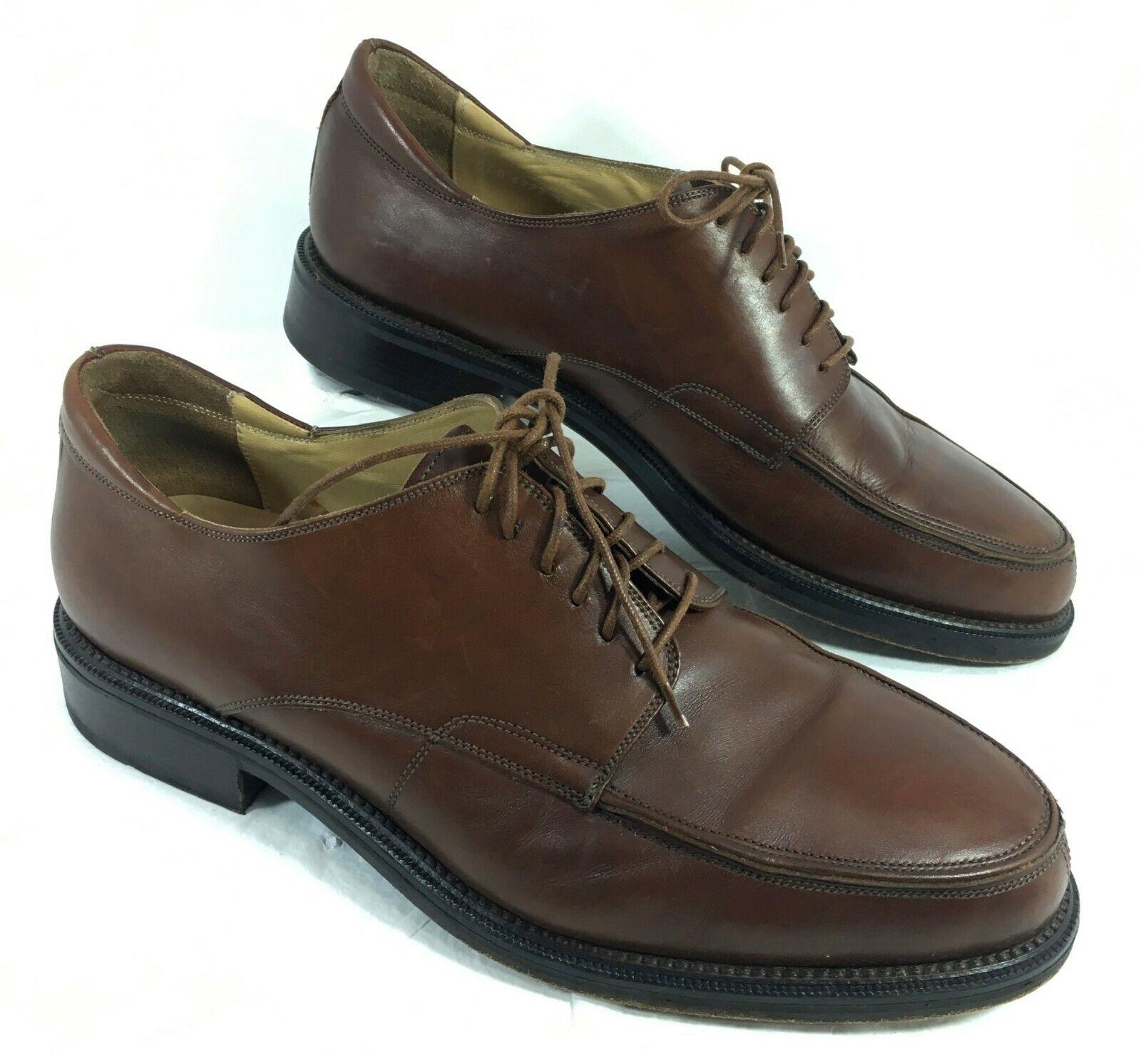 GUC Men's Cable & CO Brown leather Oxfords Sz 11 D
