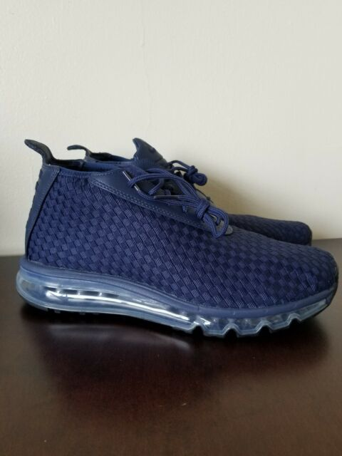 Nike Lab Air Max Woven Men's Athletic Sneakers Midnight NavyBlack