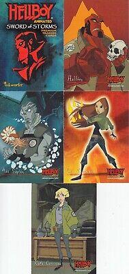 HELLBOY ANIMATED 2006 INKWORKS PROMO CARD HA-UK