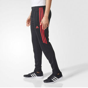 Adidas-Tiro-17-Women-039-s-Training-Track-Pants-Black-Energy-Pink-Tiro17-CF3612