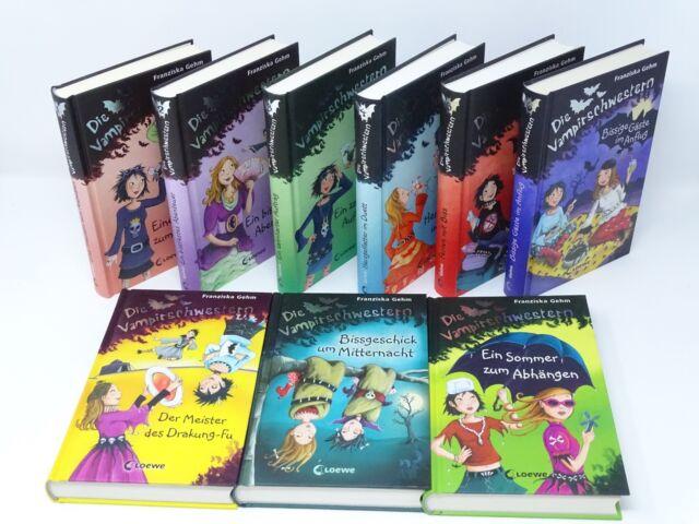 FRANZISKA GEHM Die Vampirschwestern  Band 1-9 / 1 2 3 4 5 6 7 8 9  = 9 x Buch