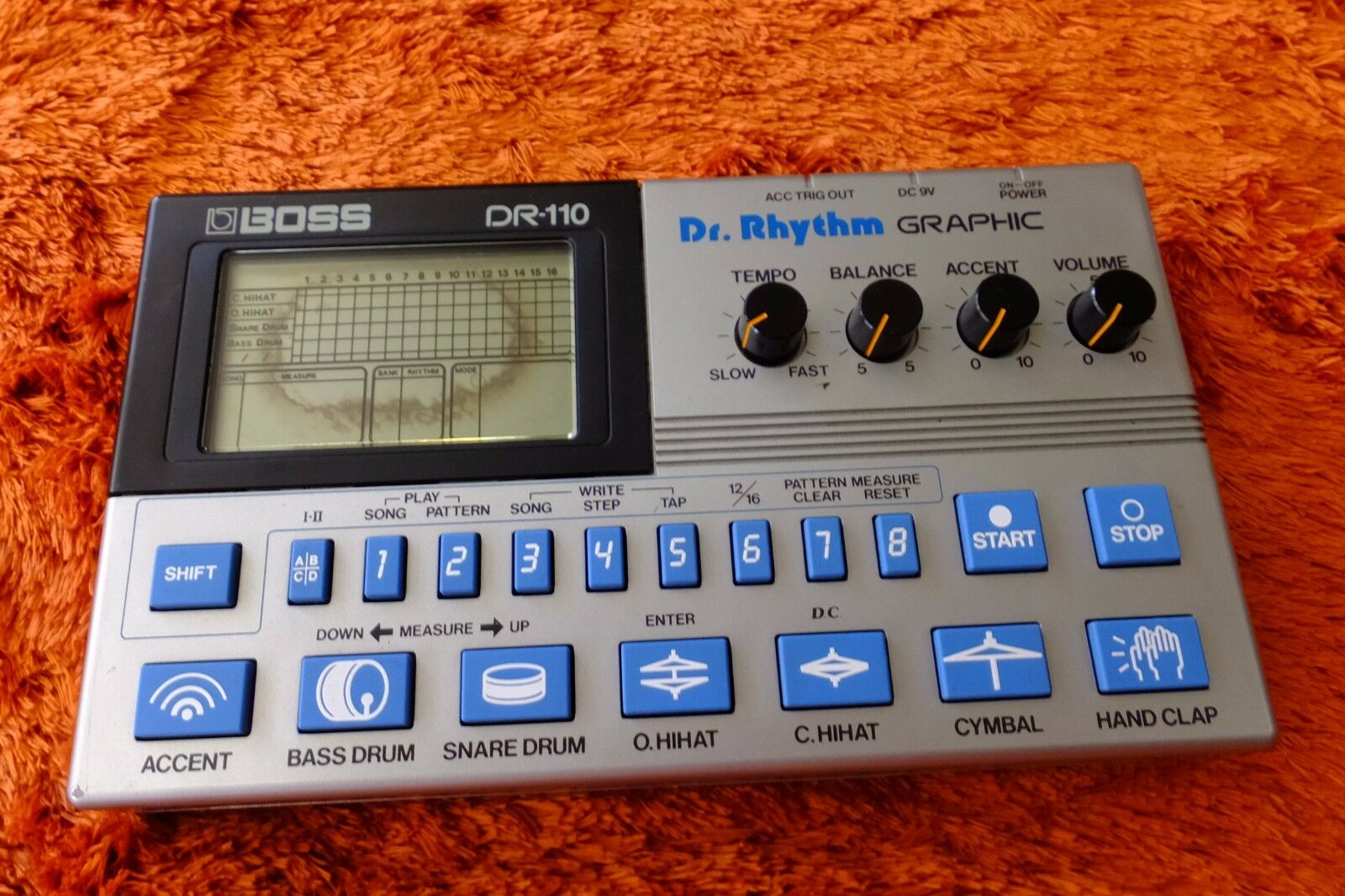 BOSS DR-110 Dr.Rhythm Graphic perfect working   170801