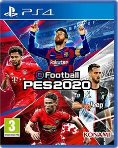 Pro Evolution Soccer PES 2020 PS4 Brand New Sealed PlayStation eFootball