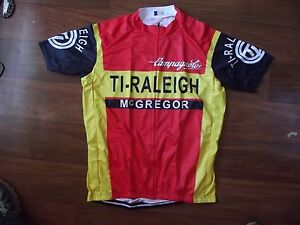 Brand-New-Team-Ti-Raleigh-Campagnolo-cycling-Jersey-Record