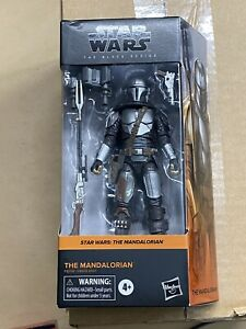 Star Wars Black Series Mandalorian Beskar Armor in hand