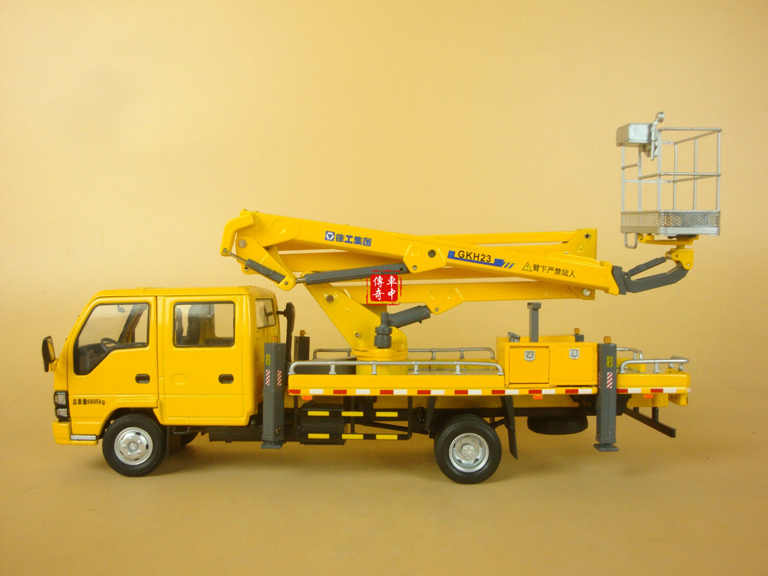 1 35 XCMG GKH23A Aerial Working Platform Series diecast model