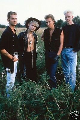 Depeche Mode New Colour 10x8 Photo