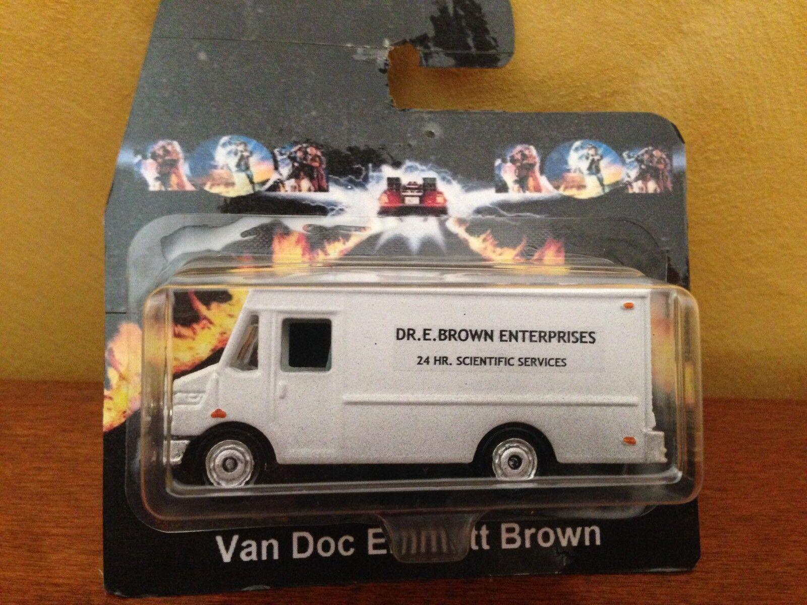 nero To The Future Van Doc Emmett Marronee 1 64 Artigianale Dmc