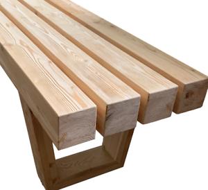 Bänke Massivholz aus Sibirischer Lärche Sitzbank Holzbank Gartenbank