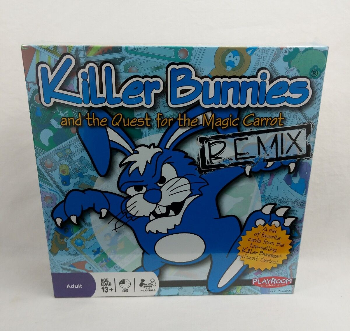 Killer Bunnies And The Quest For Magic Carrot Remix Board Game by Playroom