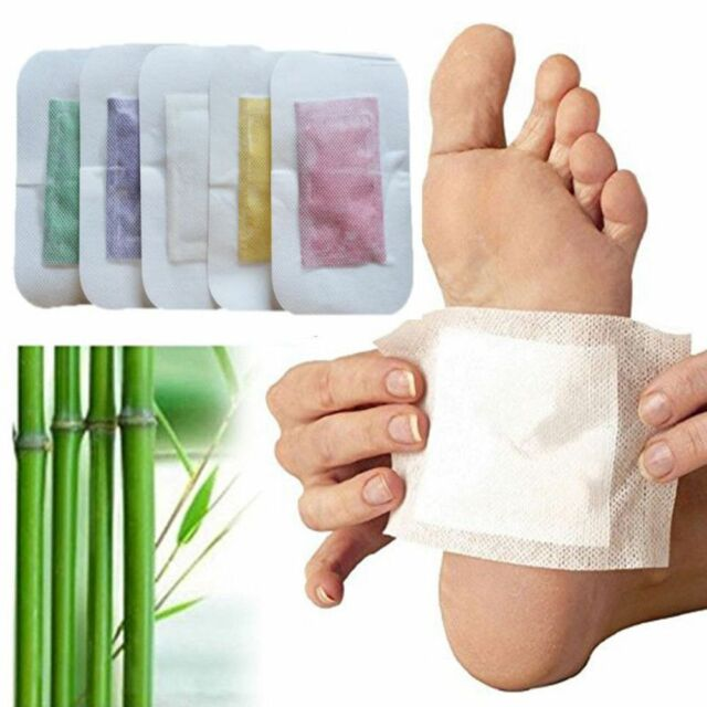 4Pcs Detox Foot Pads Detoxifying Patches Weight Loss Detox Foot Patch