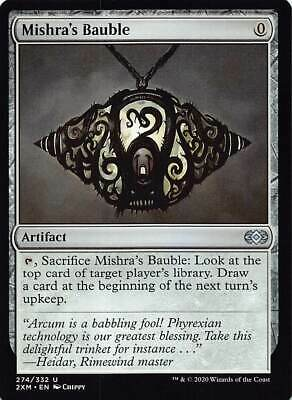 x4 FOIL MISHRA/'S BAUBLE 274//332 DOUBLE MASTERS MTG CARD MAGIC UC