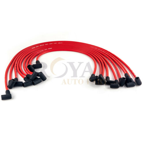8.5MM Electronic Ignition HEI Spark Plug Wire Set For Chevy SBC BBC 350 383 454