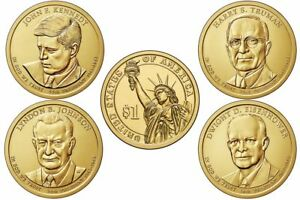 Mint Rolls Money President 2012 P/&D Presidential One Dollar Coins 8 Coins U.S