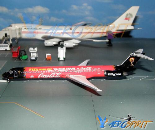 Rare McDonnell Douglas MD-83 Blue Line 2010 F-GMLU Phoenix Models 1:400 PH4FIF50