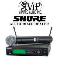 Shure Slx24/beta58 J3 Wireless Microphone System (j3/572 - 596mhz) W/beta 58 Mic