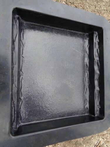 """.150 plastic bench leg 1 mold for small bench top molds 12/"""" x 11/"""" x 2.25/"""""""