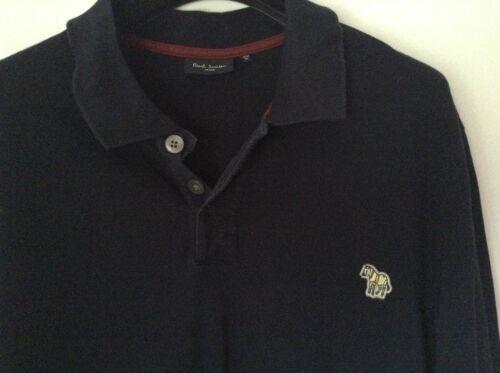 Navy Auth 100 Smith met loved Mens Pre logo Paul Polo mouwen lange Xl AYT6gEW