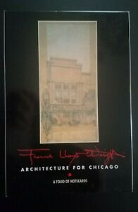 Frank Lloyd Wright Notecards Architecture For Chicago Wolf Lake Mile High