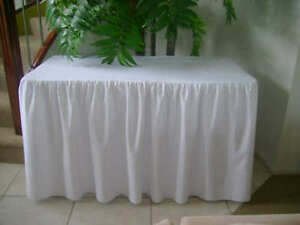 Trestle-Table-Cover-Fitted-White-Gathered-6-Foot-Table-1-8m-Wedding-Party