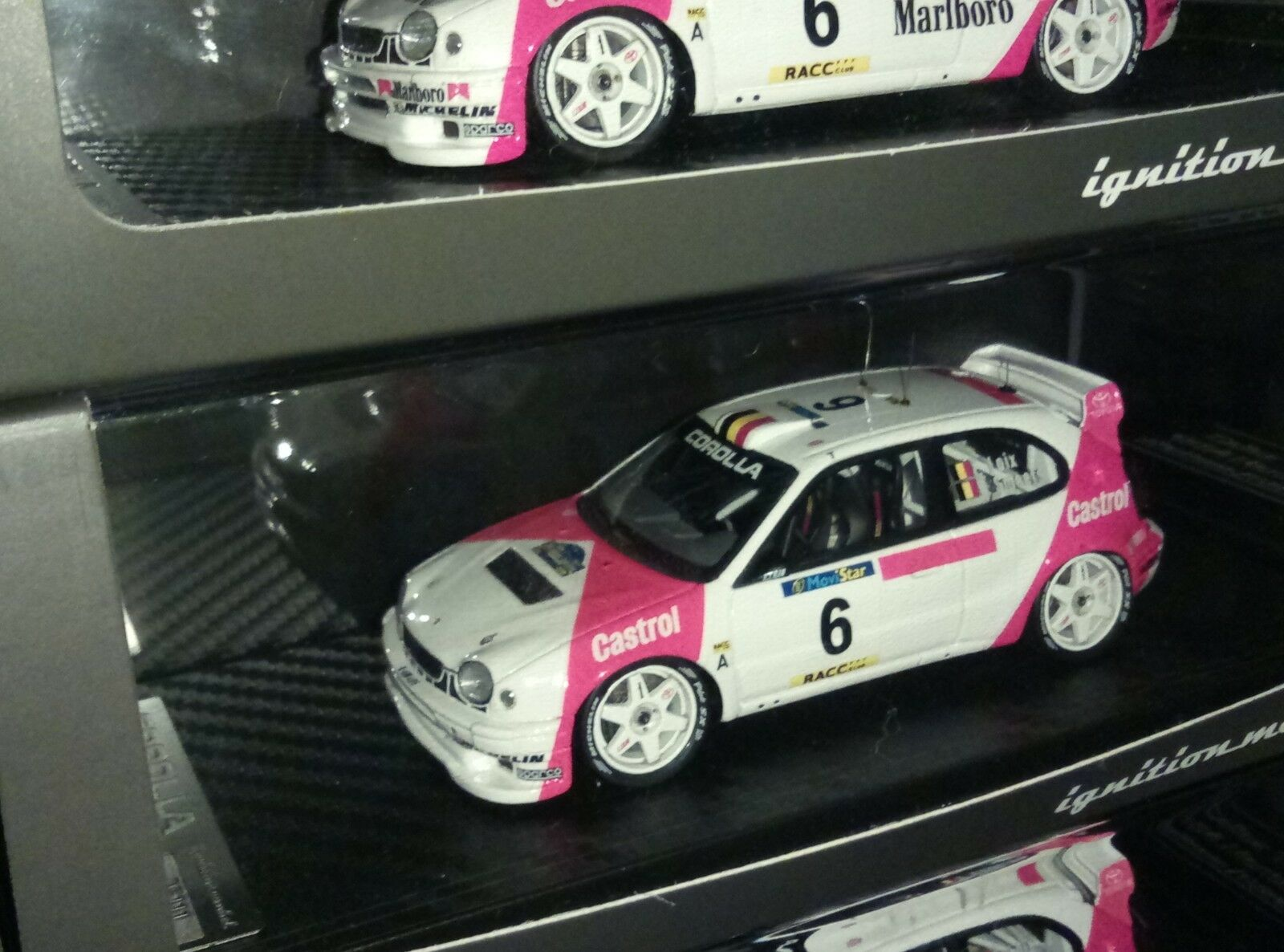 IG IGNITION MODEL IG0152 TOYOTA CorLLA Wrc F.Loix Rally Catalunya 1998 - RARE