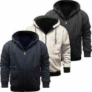 Mens-Grindle-Sherpa-Fleece-Fur-Lined-Borg-Hoodie-Winter-Sherpa-Hooded-Jacket