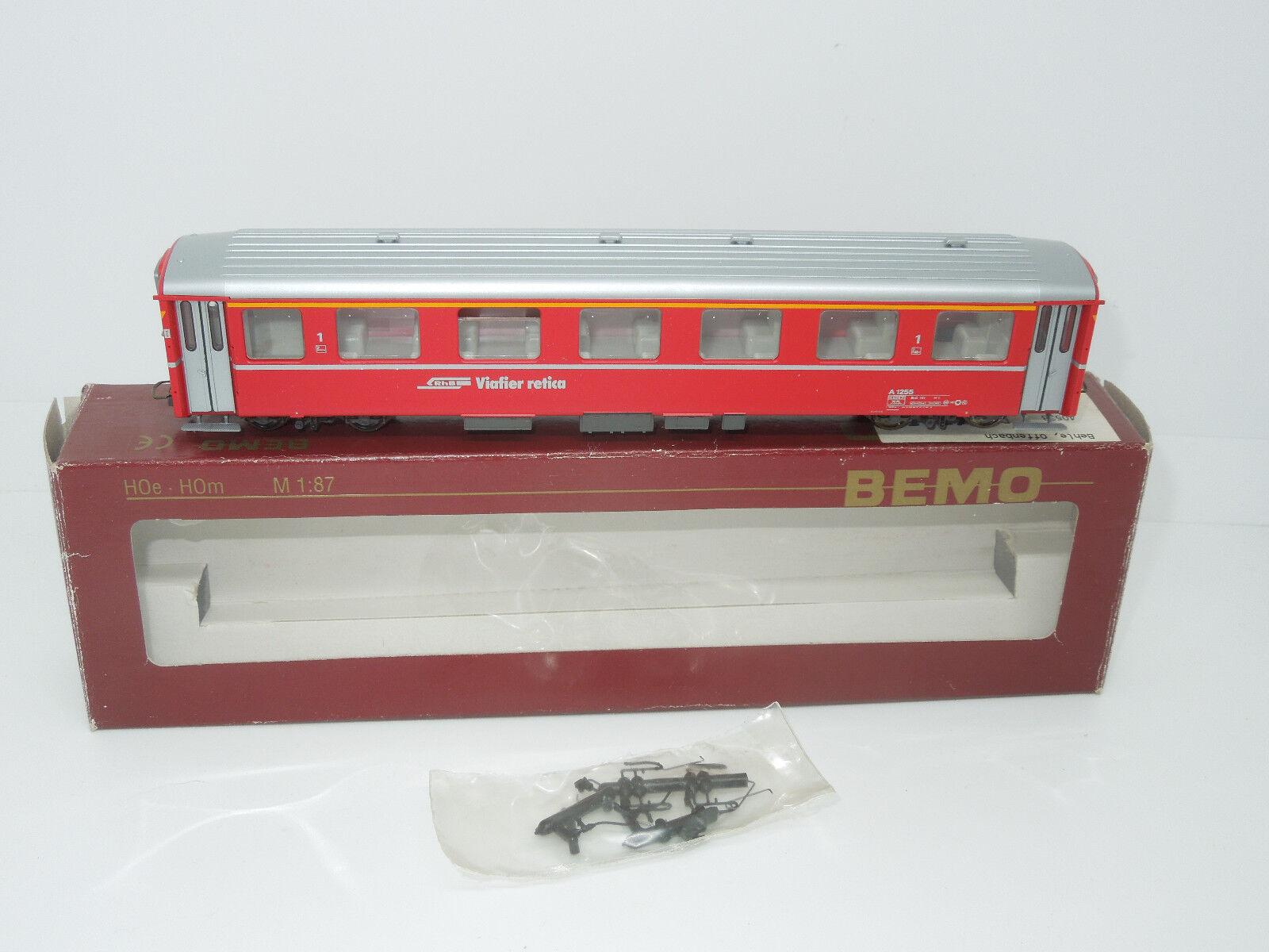 Bemo H0e 3268135 Personenwagen 1. Kl RhB Rhätische Bahn