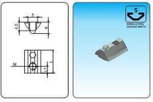 T-Slot-Nuts-With-Ball-Serial-5-M5-10pcs-Aluminum-Profile-Profil-20x20-serial-5