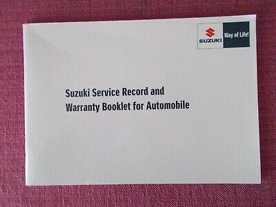 (2017) Usato Suzuki Registro Di Servizio. Ha 2 Francobolli. (ak 232)-