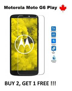 For-Motorola-Moto-G6-Play-Tempered-Glass-9H-Hard-Screen-Protector-Cover-Canada