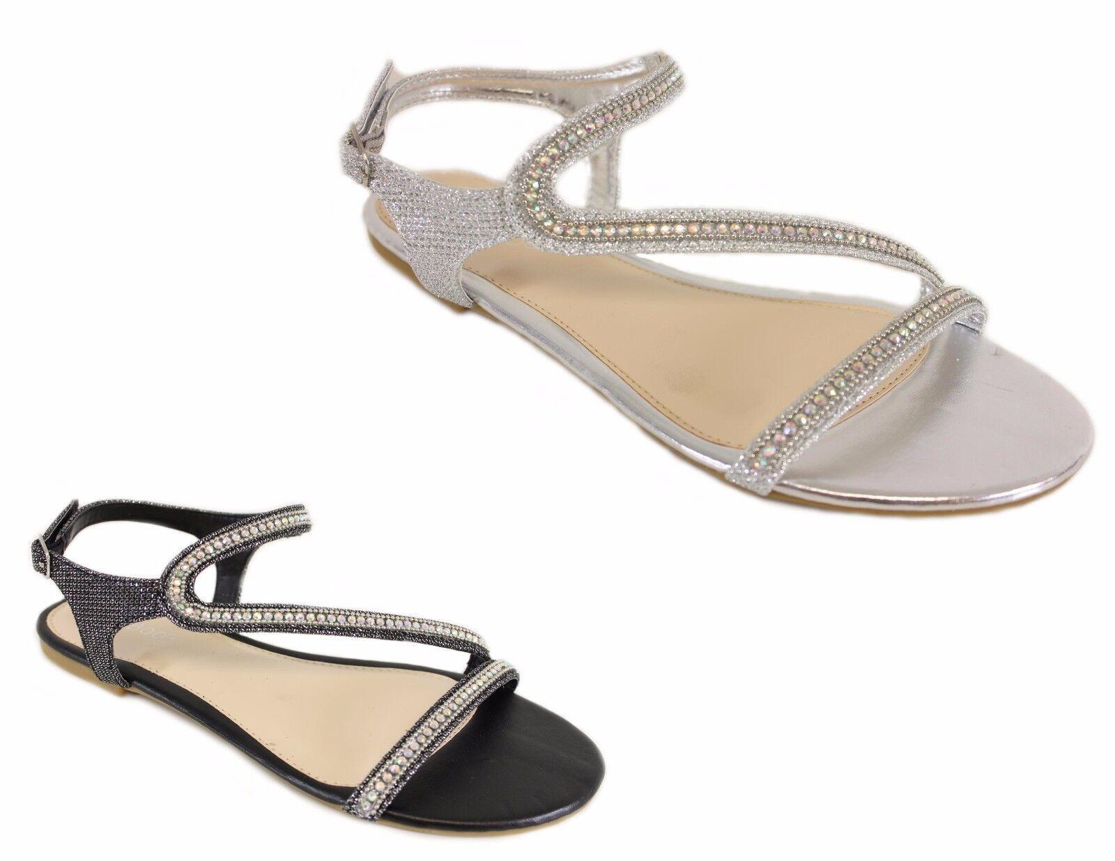 New CALEB19 Women Sandals Shoes Gladiator Flip Thong Flops T Strap Flip Gladiator Flat Strappy 89469c