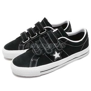 9b454bc288d9fb Converse One Star Pro 3V OX Black White Men Women Skate Boarding ...