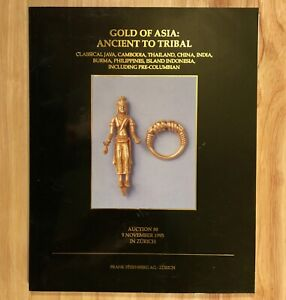 GOLD OF ASIA: Ancient to Tribal - Auction 30, 9 November 1995 in Zurich