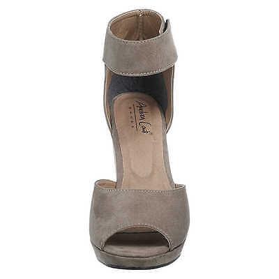 Andrea Conti Damen Sandaletten, Sandalen Damenschuhe, taupe, Gr. 39, Neu