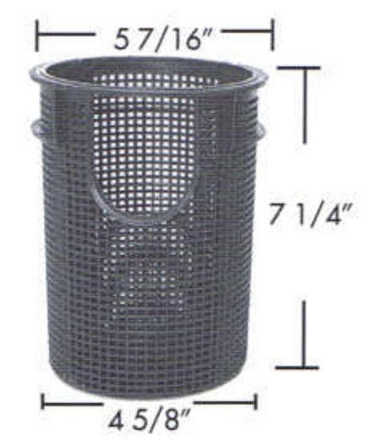 "Sta-Rite Swimquip  Pool Pump 6/"" Trap Kit Strainer Basket 16920-0017 B196"