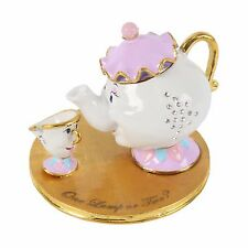 Mrs Potts and Chip Beauty and the Beast Walt Disney Classic Trinket Box