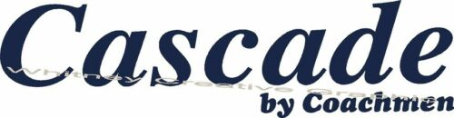 "/""Cascade/"" By Coachmen RV LOGO lettering for trailer 19/""X5/"" Made Fresh!"