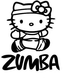 hello kitty fitness exercise dance vinyl decal sticker for cars Hello Kitty Hiking image is loading hello kitty fitness exercise dance vinyl decal sticker