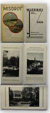 Misdroy Seebad & klimatischer Kurort 1928 Polen Międzyzdroje Reise Ortsunde xy